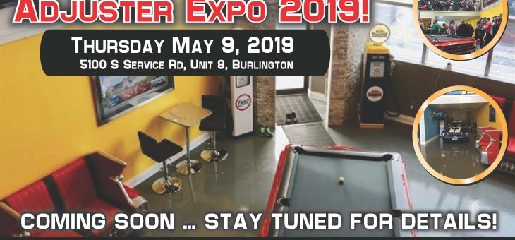 Coming Soon … Adjuster Expo 2019!!!
